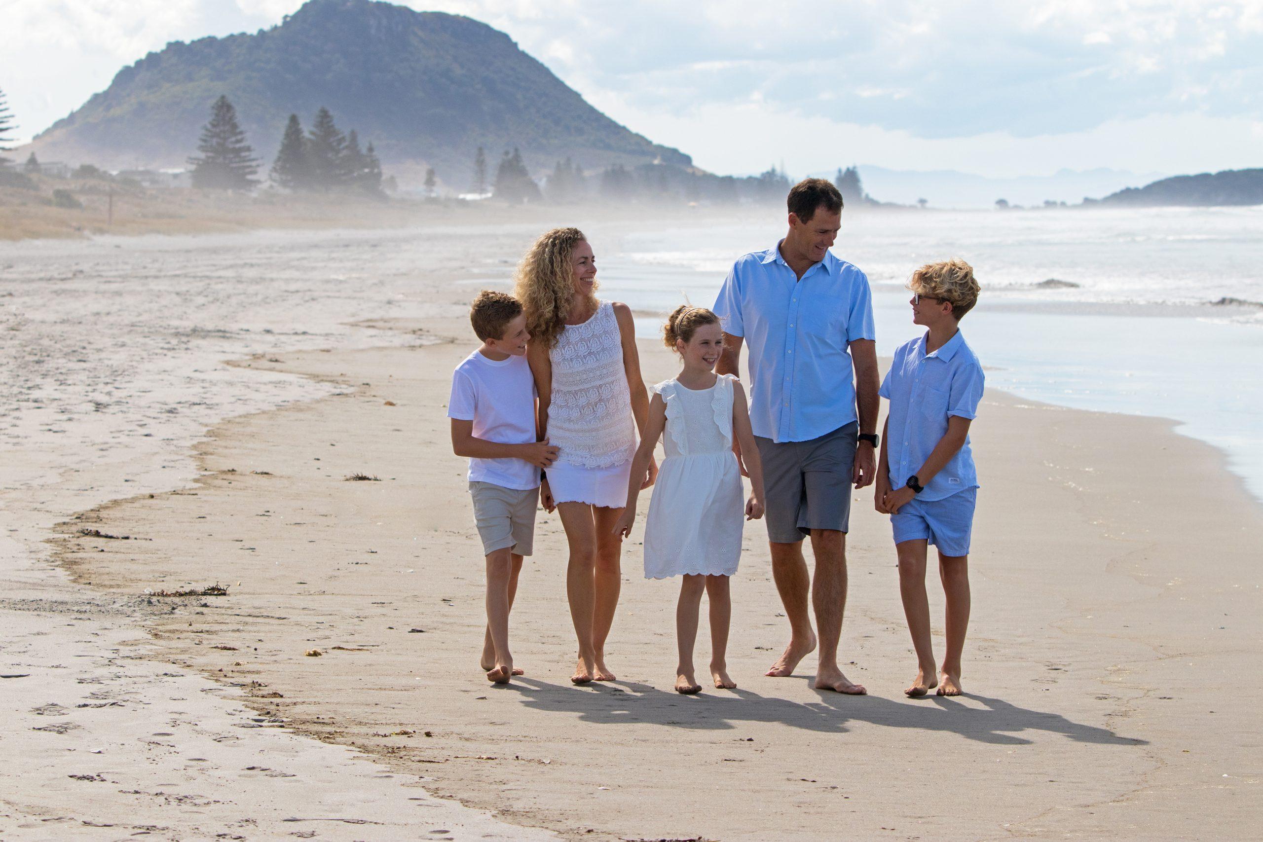 Laery Family Beach Photo